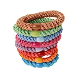 L. Erickson Ponytail Holders - Set of Eight - Spring Pack
