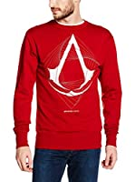 ICONIC COLLECTION - ASSASSINS CREED Sudadera Spire Logo (Rojo)