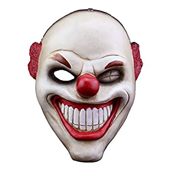 SALICO Payday2 Red Nose Classic Collector Cosplay Costume Masquerade Resin Mask