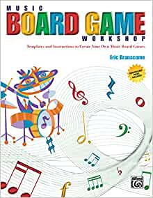 board game instructions template - music board game workshop templates and instructions to