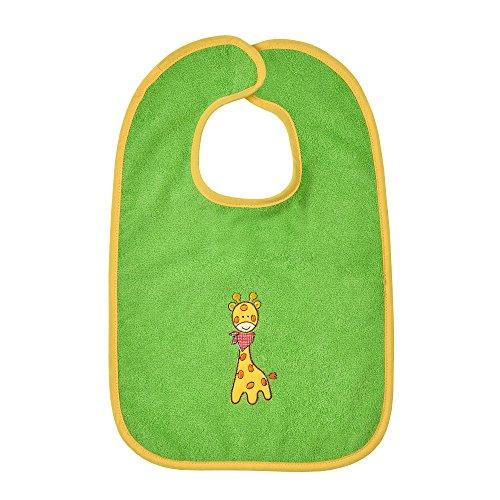 worner-poncho-baby-jirafa-kiwi-babero-toallas-manopla-poncho-de-bano-verde-riesen-klettlatzchen-30x4