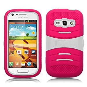 Pink Samsung Prevail 2 Rugged Case - Full Protection - Otterbox Style