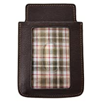 Boconi Hendrix iSheath Smartphone Wallet (Oldwood Brown w/plaid)