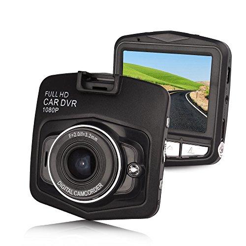 Btopllc auf Schlag Video DVR Digital Video / Audio-Aufnahme Drive Recorder Full HD 1080P mit G-Sensor Micro-USB-Kabel USB Car Charger