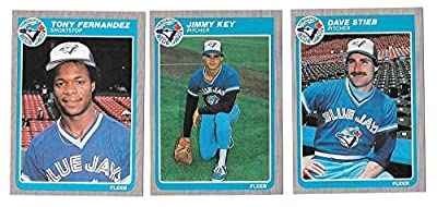 1985 FLEER - TORONTO BLUE JAYS Team Set