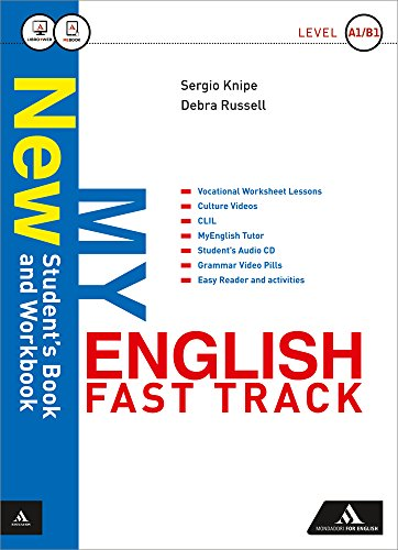New my english fast track. Student book-Workbook-Tutor-Haunted house. Con e-book. Con espansione online. Per le Scuole superiori. Con CD Audio formato MP3