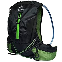 Premium Hydration Pack - 2L Water Bladder - Ultra Lightweight - Water Resistant Backpack - Perfect for Hiking, Cycling, Running, Fishing