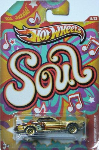 Hot Wheels Jukebox Soul '68 Mercury Cougar Gold #14/32 - 1