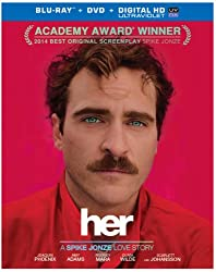 Her (Blu-ray + DVD + UltraViolet Combo Pack)