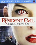 The Resident Evil Collection (Movies 1-4: Resident Evil / Resident Evil: Apocalypse / Resident Evil: Extinction / Resident Evil: Afterlife) [Blu-ray]