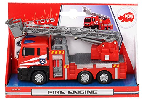 dickie toys 203712008 man fire engine feuerwehrauto 17 cm. Black Bedroom Furniture Sets. Home Design Ideas