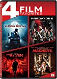 Abraham Lincoln Vampire Hunter / Predators / The Raven / Machete Quad Feature