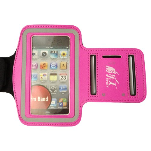 Tender Red New Elastic Sports - Running Armband Cover Case For Iphone 4S ,4 ,4G, 3G, 3Gs,Ipodtouch 3 And 4