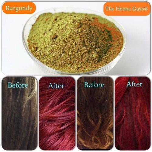 Burgundy Red Henna Hair Color Dye 100 Grams The Henna