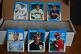 1987 Fleer Complete Baseball Set (660 Cards) (Barry Bonds Rookie) (Bo Jackson Rookie) (Will Clark Rookie)(jose Canseco) ((Kirby Puckett Rookie) (Roger Clemens) (Dwight Gooden) ((Don Mattingly) (Darryl Strawberry) (Ryne Sandberg) (Wade Boggs) (Tony Gwynn) (Cal Ripken Jr.)