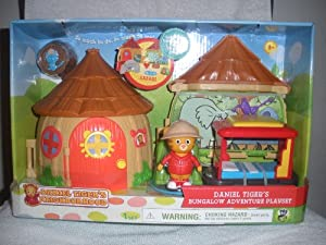 Tiger's Neighborhood Bungalow Adventure Playset with Daniel Tiger