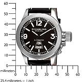 Stuhrling Original Men's 215L.33151 Sea Hawk Sportsman's Automatic Black Dial Watch