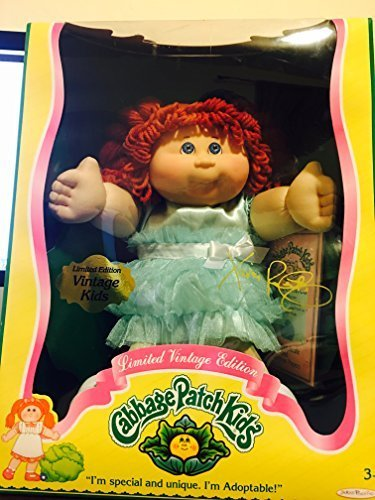 Cabbage Patch Kids Limited Vintage Edition - Red Hair and Blue Eyes by Cabbage Patch Kids (Cabbage Patch Vintage compare prices)