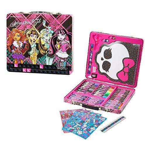 150pc-kids-art-supplies-set-gift-tin-case-stationary-art-and-craft-kit-organizer-drawing-monster-hig
