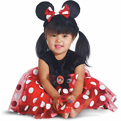 Red Minnie Mouse Baby Costume