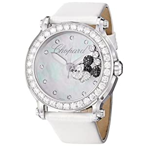 Chopard Happy Sport Round Ladies Mickey Mouse Diamond Watch 288524-3005