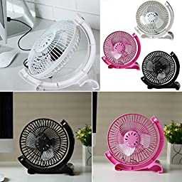 Bangcool Innovative Design Noiseless Portable USB Mini Fan(Black)