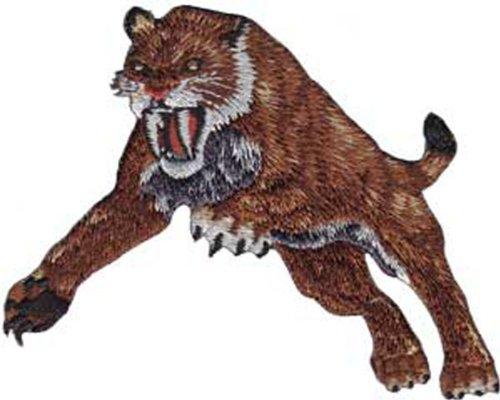 Application Saber Toothed Tiger Patch