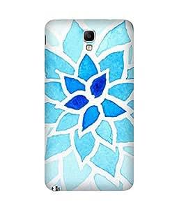 Blue Flower Samsung Galaxy Note 3 Neo Case