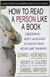 img - for How to Read a Person Like a Book book / textbook / text book