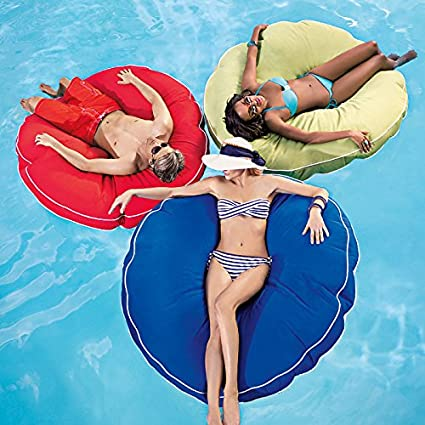 Oversized round pool floats