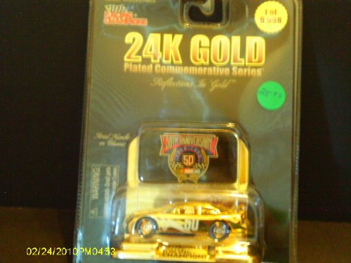 # 50 NASCAR 50th Anniversary 24KGold Commemorative - 1
