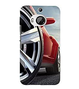 Fantastic Car 3D Hard Polycarbonate Designer Back Case Cover for HTC One M9+ :: HTC One M9 Plus
