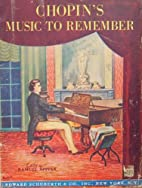 Chopin's Music to Remember (includes…