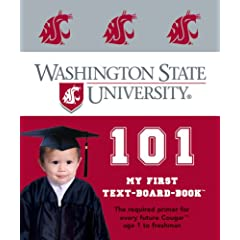 Washington State University 101: My First Text-Board-Book (My First Text-Board-Books)