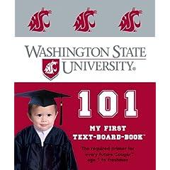 Washington State University 101: My First Text-Board-Book (My First Text-Board-Books)
