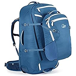 LOWE ALPINE AT VOYAGER ND65:15 BACKPACK (ATLANTIC BLUE/LIMESTONE)