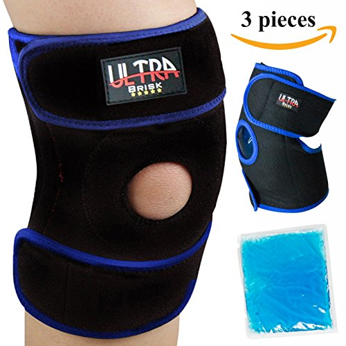 Medical knee Brace Perfect for Meniscus tear, Arthritis and Sports, Helps you to Recover Faster, takes pressure off knees! FDA Approved ...