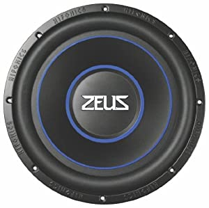 hifonics zrx12d4 zeus round 12 inch subwoofer. Black Bedroom Furniture Sets. Home Design Ideas
