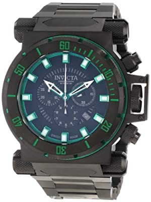 Invicta Men's 10036 Coalition Forces Chronograph Black Dial Watch