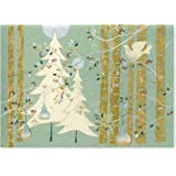 Pines and Birches Deluxe Boxed Cards (Christmas Cards, Greeting Cards)