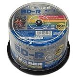 HI-DISC 6倍速対応BD-R 50枚パック 25GB ホワイトプリンタブルハイディスク HDBDR130RP50