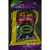 Pacific Gold Brand Beef Jerky Made from Solid Strips of Beef. 97% Fat Free! Pacific Gold Natural Style Beef Jerky is made from the finest U.S.D.A. approved beef, blended with the highest quality seasonings available. Pacific Gold Beef Jerky brings yo...
