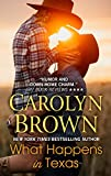 What Happens In Texas (Thorndike Press Large Print Romance Series)