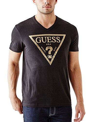 guess-mens-bordeaux-logo-v-neck-tee