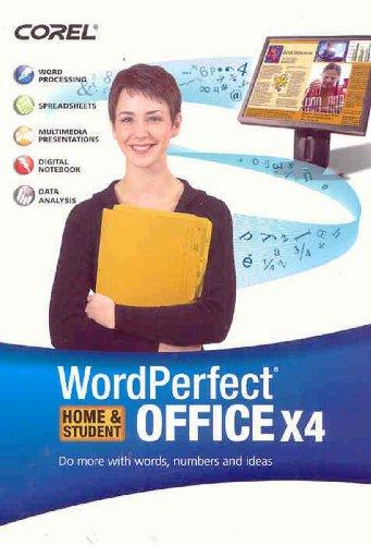 WordPerfect Office X4 Home & Student  (Bilingual)