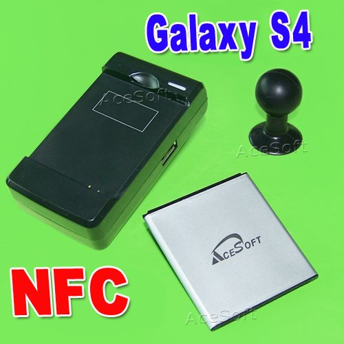 AceSoft 3380mAh NFC Battery Desktop Wall Travel