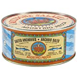 Agostino Recca Anchovies Salted Whole Anchovies