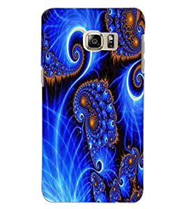 SAMSUNG GALAXY NOTE 5 EDGE FLOWERS Back Cover by PRINTSWAG
