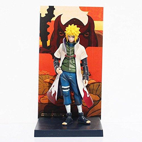 Naruto Yondaime Hokage Namikaze Minato Action figure PVC Doll With Box 16cm