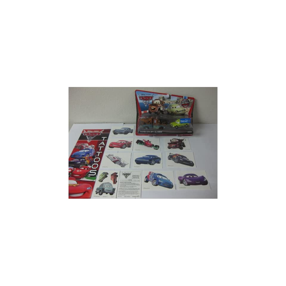 Cast Mission155 Cars Secret Die 2maters Pack Exclusive Disney W9Ie2bEDYH